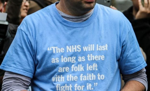 160907 fight for NHS t-shirt