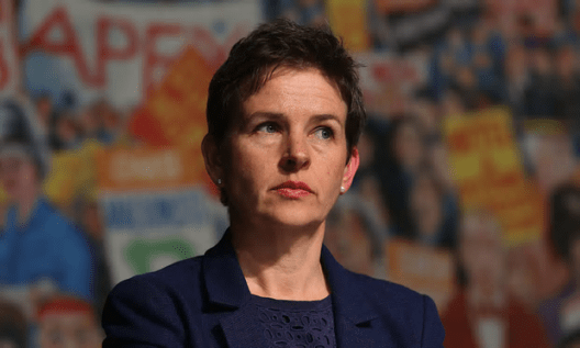 Mary Creagh said the incident had left staff in the office distressed [Image: Niall Carson/PA].