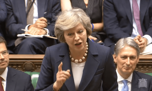 Theresa May: Finger-wagging didn't do her any good.