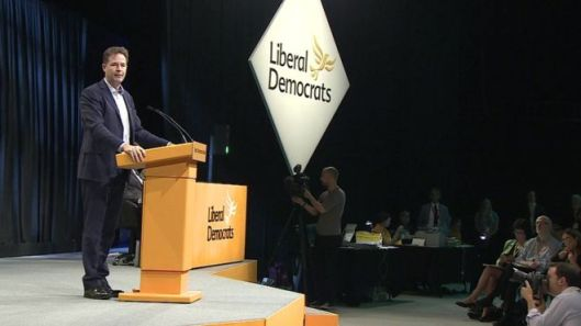 The former Lib Dem leader said the government lacked any sense of direction over Brexit.