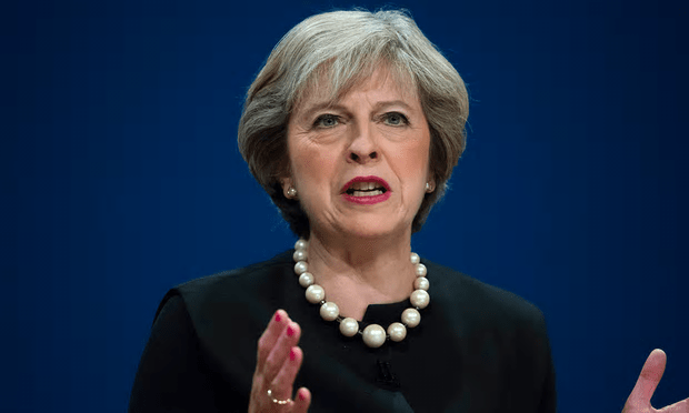 Theresa May has promised article 50 will be triggered by the end of March [Image: Xinhua/Barcroft Images].