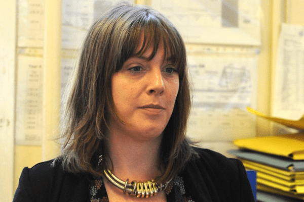 Jess Phillips. Some might say she has taken a tough stance. More accurate to say it is ignorant and sexist [Image: PA].