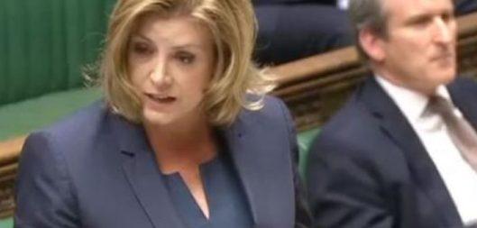 Penny Mordaunt: A Tory nonentity touting nonsense.