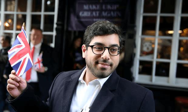 Raheem Kassam had been second favourite in the Ukip leadership race [Image: Neil Hall/Reuters].