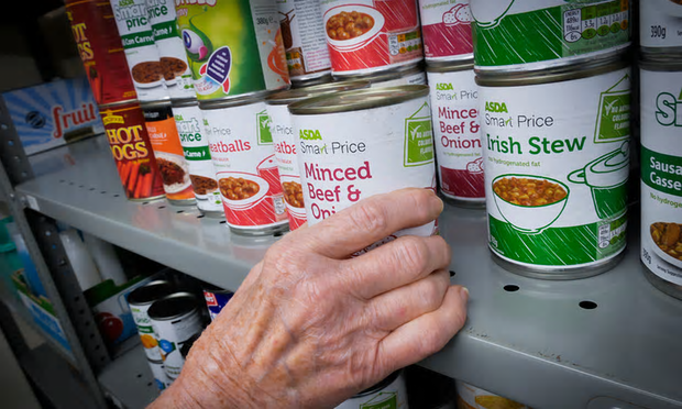The New Hope Church food bank, South Shields. 'Not so long ago, the Conservatives vowed to end child poverty. Now they are enacting laws to create not just poverty, but generations of destitution.' [Image: Mark Pinder.]