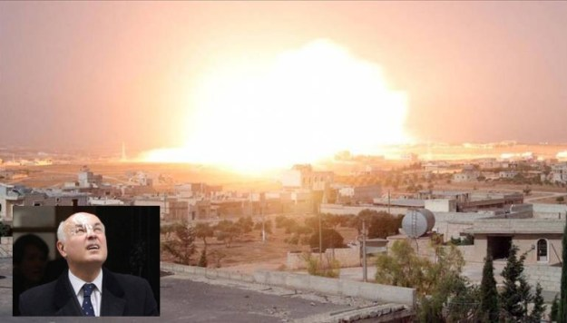 Iain Duncan Smith should shut up about Aleppo: The closest he ever came to being bombed was when a bird left a message on his head.