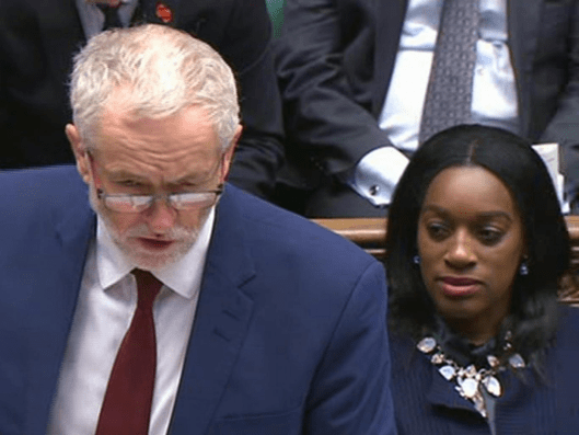 Labour leader Jeremy Corbyn launched a motion this week to stop pupil nationality data collection [Image: BBC].