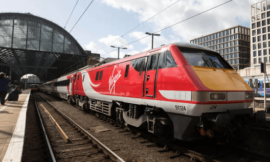A Virgin Trains East Coast train at King's Cross station in London [Image: David Parry/PA].