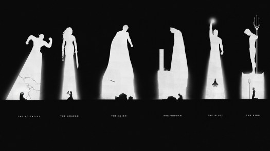 Superheroes Past & Present by Khoa Ho