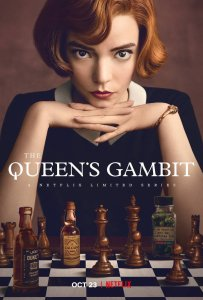 Netflix poster for the Queen's Gambit