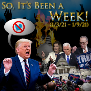 Episode Artwork: Insurrection of the United States Capitol, Donald Trump loses Twitter