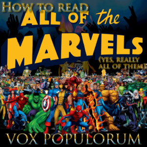 """Episode artwork for """"How to Read All of the Marvels"""""""