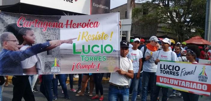 Lucio Torres: Cartagena Heroica no se rinde resistiremos