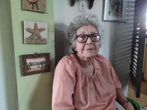 «Quiero justicia», Adelina Quintana, 86 años, madre de Vicky del Río.