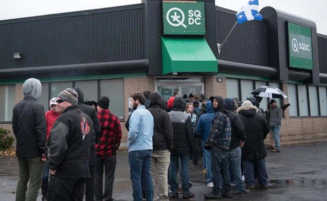 Canadá se vuelve el país más grande con marihuana legal