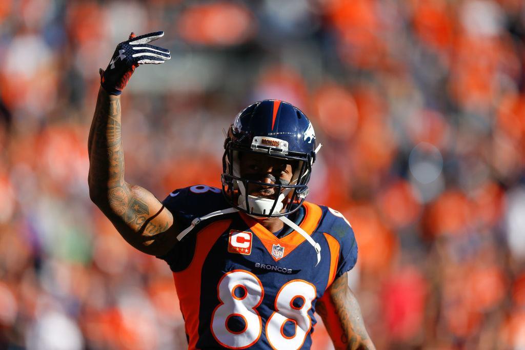 REPORTE: Los Texans reciben a Demaryius Thomas desde los Broncos