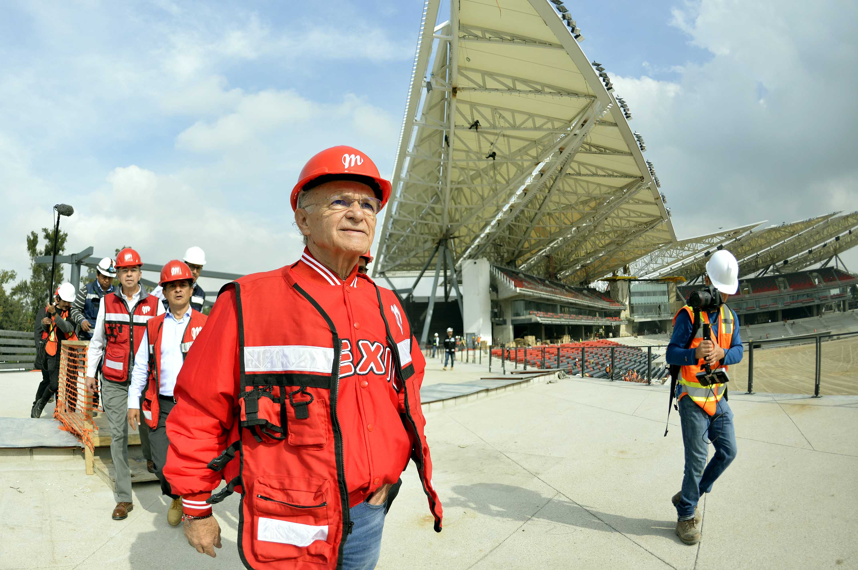 Analizan Padres-Diablos para inaugurar nuevo estadio del México