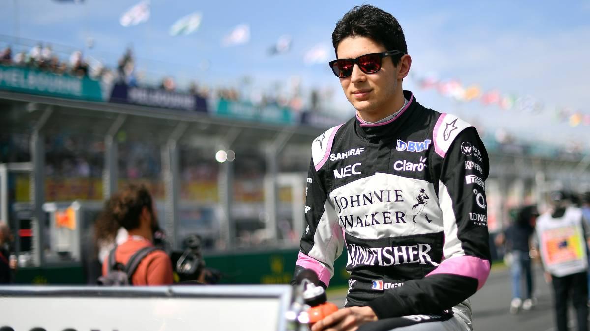 Adios, Checo; Ocon sera piloto reserva de Mercedes