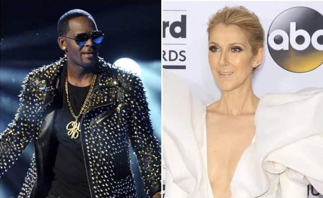 Celine Dion eliminará su canción con R. Kelly tras acusaciones