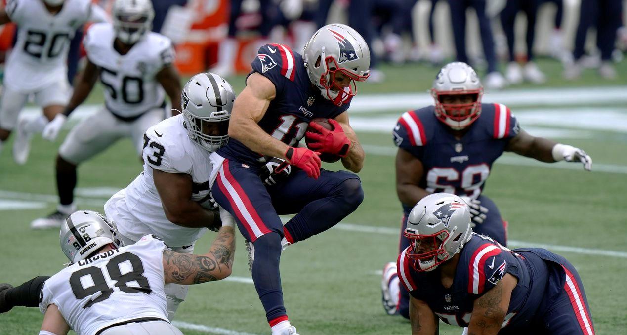 Raiders vs. Patriots - Reporte de Juego - 27 septiembre, 2020