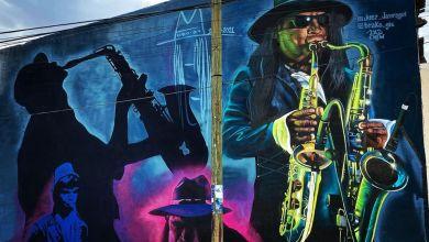 El mural se ubica en la calle de Porfirio Díaz.