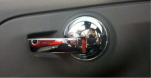 Fiat Pop 500c door lock