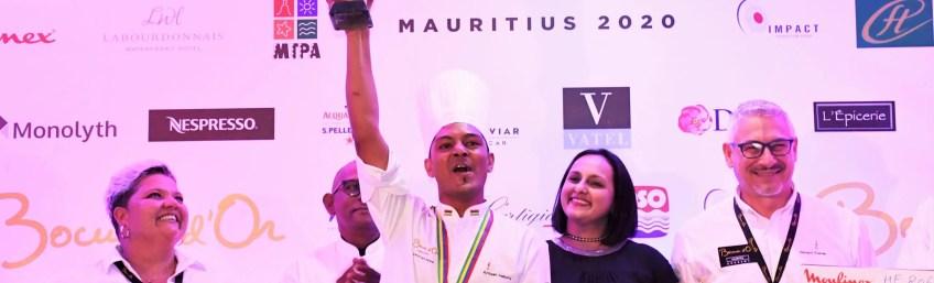 Kritesh Halkory remporte le Bocuse d'Or Mauritius