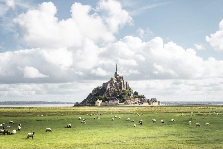 Le Mont-Saint-Michel - parcours Traversée moderne d'un vieux pays © Franck Tomps / LVAN