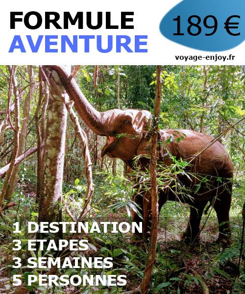 Travel planner aventure