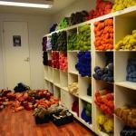 Comme en Islande, les magasins vendent avant tout de la laine