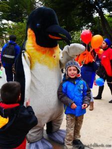 Les pingouins sont énormes ici
