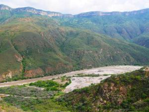 Colombie canyon de Chicamocha