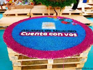 colombie fête de fleurs