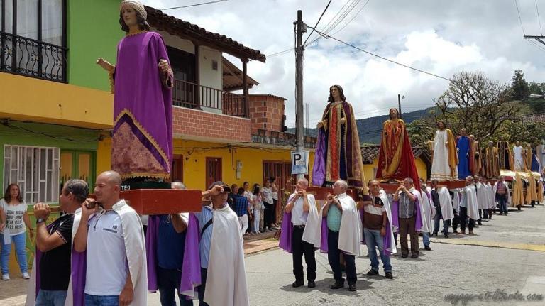 Colombie-Guatapé-semaine-sainte