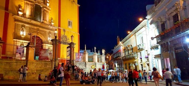 Les superbes Guanajuato et San Miguel de Allende … à éviter de parcourir en camping-car!