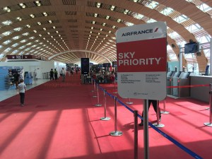 L'accès Sky Priority offert pour les billets classe Affaires