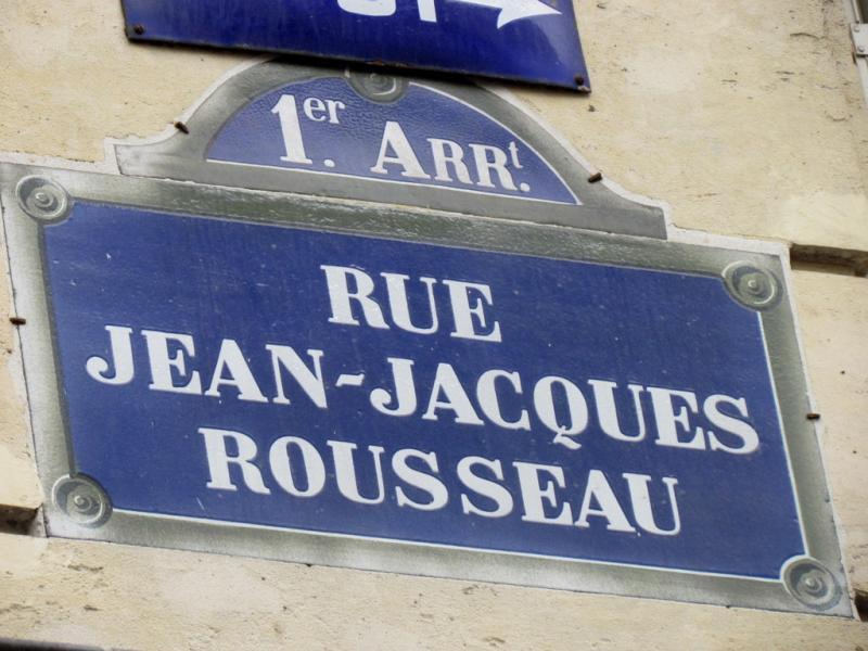 Rue Jean-Jacques Rousseau, Paris