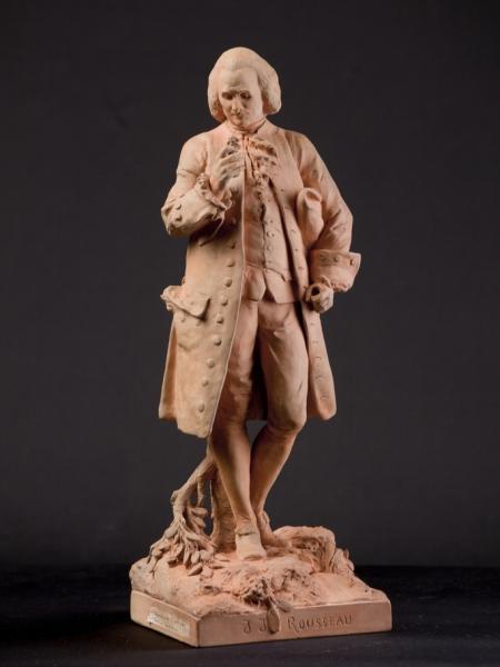 J-J. Rousseau par A. Carrier-Belleuse, Musée de Montmorency © Musée Montmorency