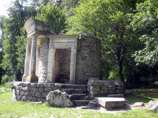 Temple, Parc J-J. Rousseau, Ermenonville © Parc J-J. Rousseau