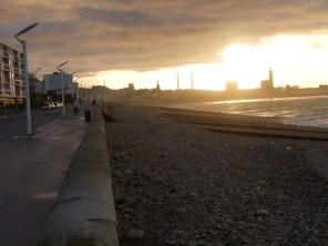 un de mes 1ers levers de soleil à mon arrivée