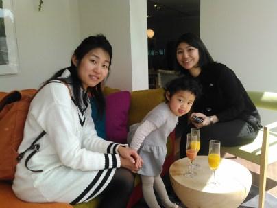 Yumiko, Muchan et Erika