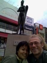 l'Ange, Yoko et moi