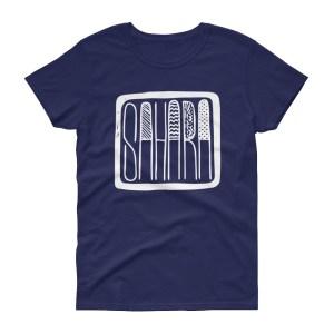 T-shirt femme SAHARA manches courtes
