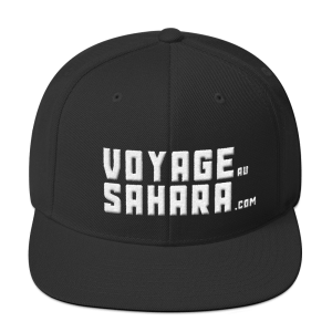 Casquette Snapback VOYAGE au SAHARA