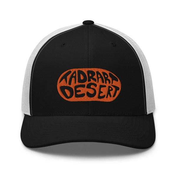 Casquette Trucker TADRART DESERT - Noir et Blanc