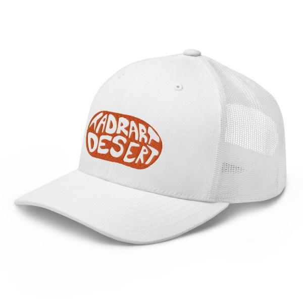 Casquette Trucker TADRART DESERT - Blanc