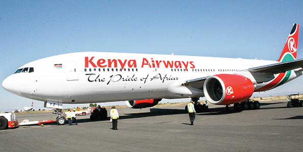 Fifth Freedom Flights : Kenya Airways(KQ)