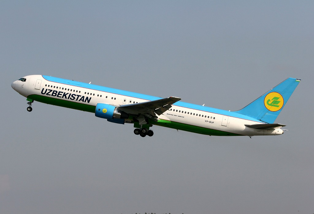 Fifth Freedom Flights : Uzbekistan Airways(HY)