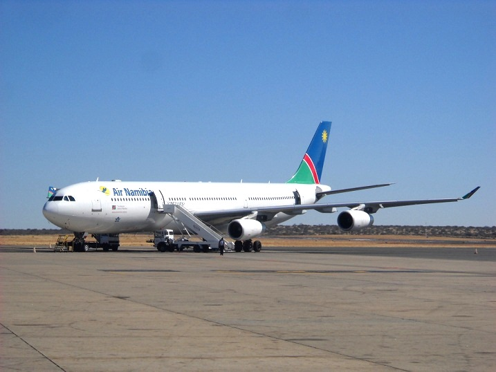 Fifth Freedom Flights : Air Namibia(SW)