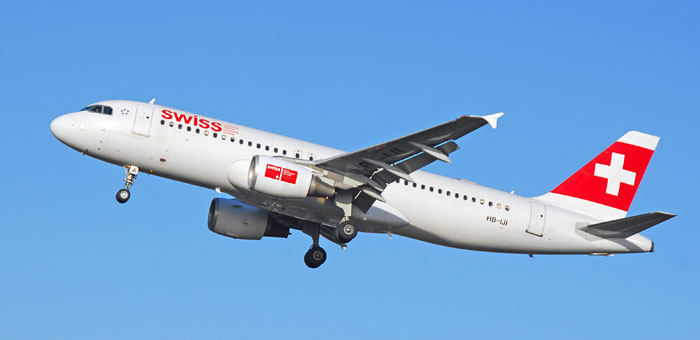 Fifth Freedom Flights : SWISS(LX)